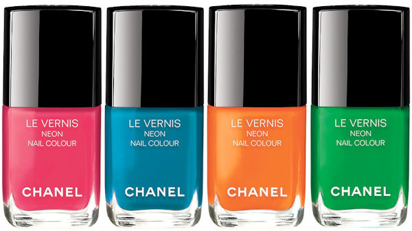 Chanel Neon Wave Collection for Summer 2017